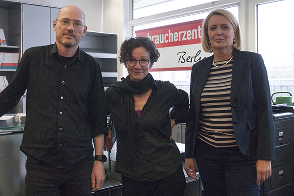 In der Verbrauchzentrale Berlin, 8.5.2017
