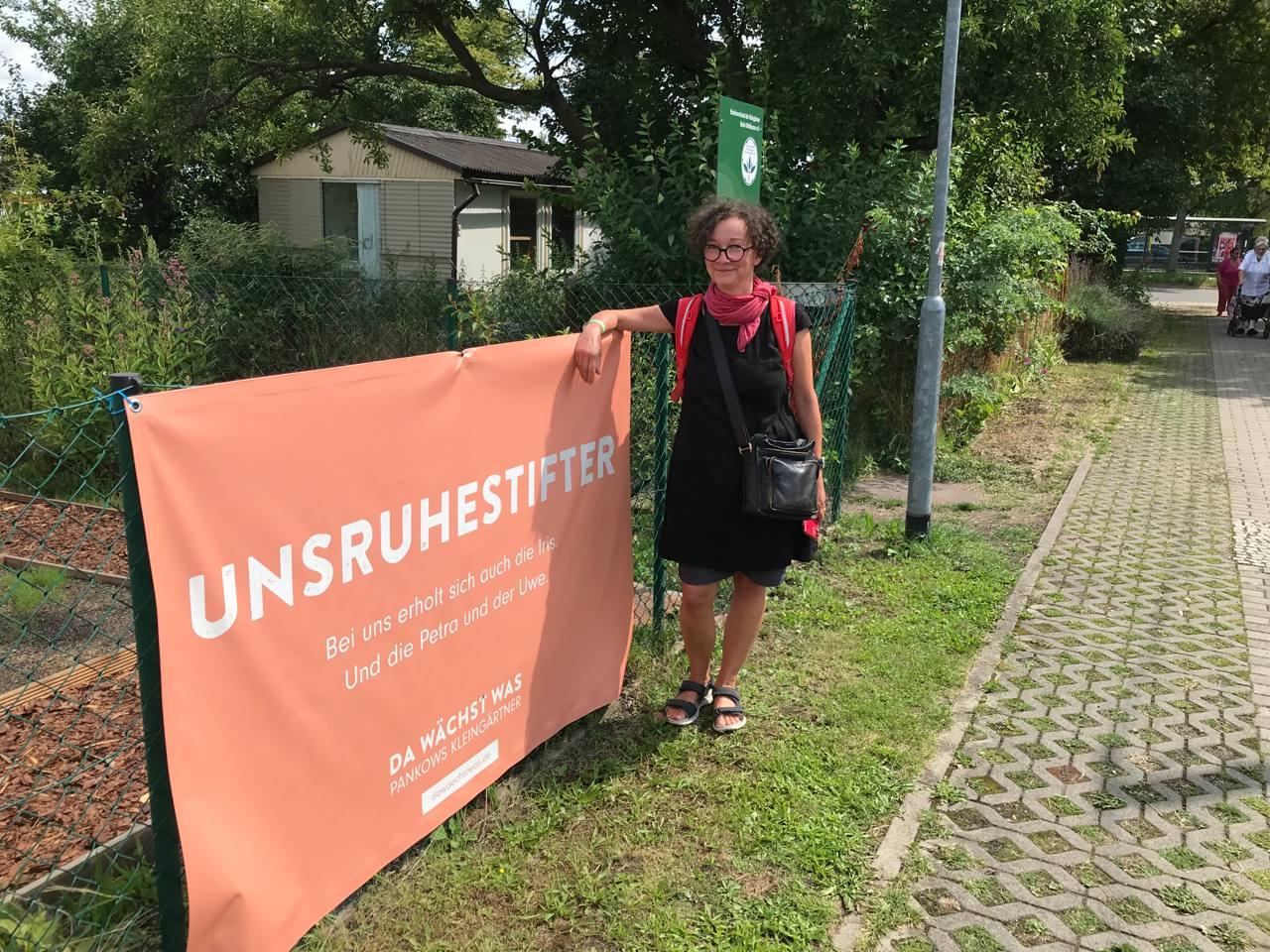 Kleingartenanlage Heinersdorf - Gespräche im Wahlkreis