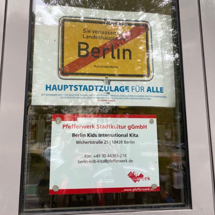 """Deutschen Kitapreis für die Kita """"Berlin Kids international"""""""
